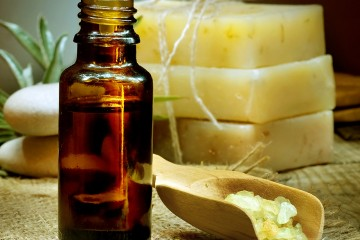 Soap contain essential oils