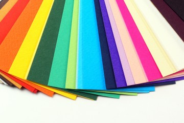 color sample cards
