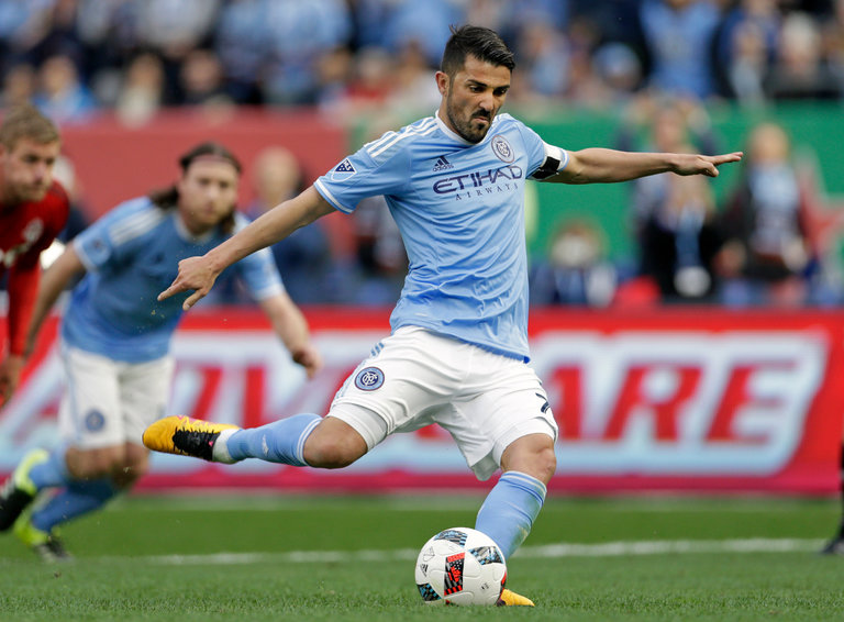 Good Times For David Villa In The MLS