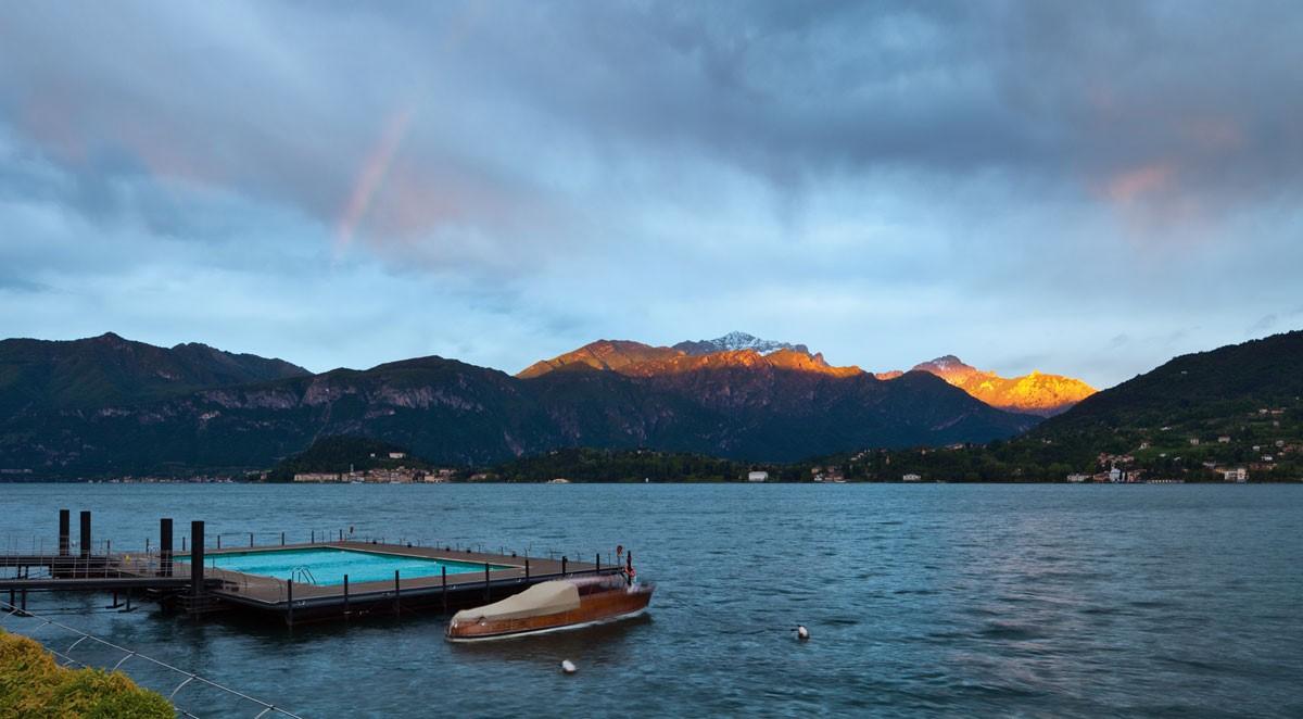 Lake Como and Tremezzo Town