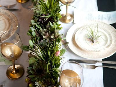Beautiful Homemade Christmas Table Decorations