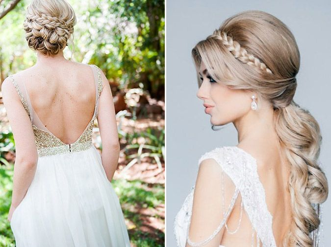 Going With The Flow: Exceptional Bridal Hairstyles