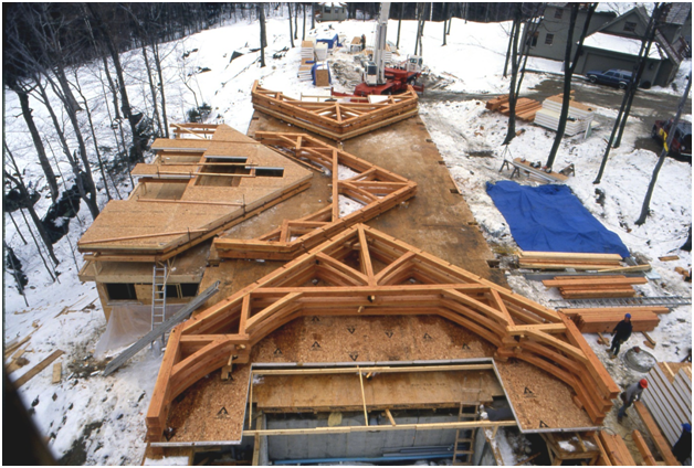 Timber Construction Collaboration Benefits Housebuilders
